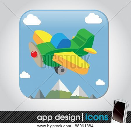 toy plane app for mobile devices