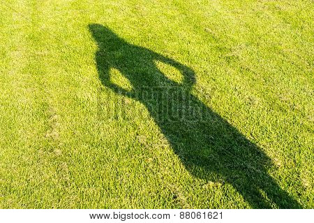 The Shadow Of A Young Girl