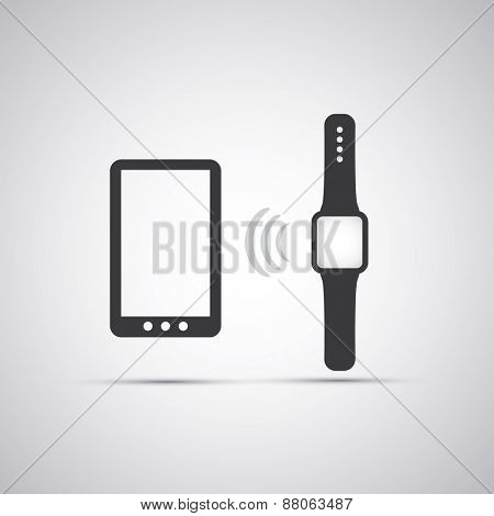 Electronic Devices - Mobile Phone with Smart Watch