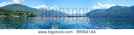 Panorama Lake Maggiore