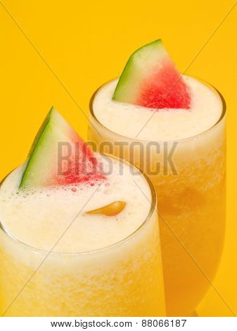 Cocktails Collection - Melon And Orange Smoothies