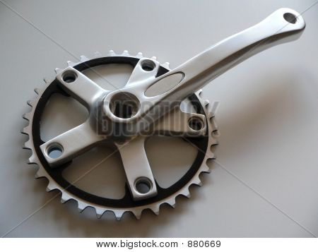 Crank And Chain Ring