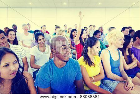 Diversity Teenager Team Seminar Training Education Concept