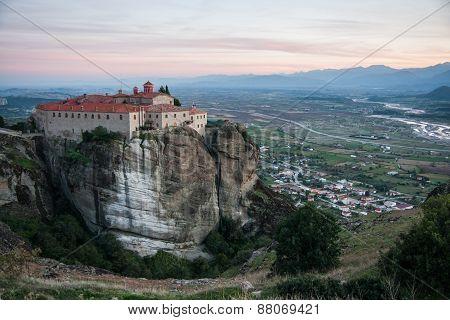 Monastery Of St. Stefanis In Meteora, Greece