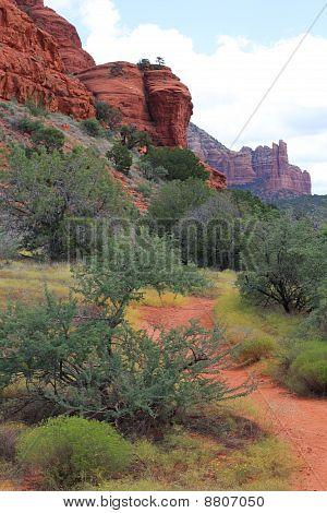 Red Rock Trail in Sedona, Arizona