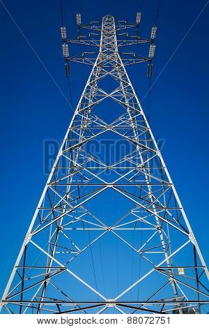 Energy Pylon - Stock Image