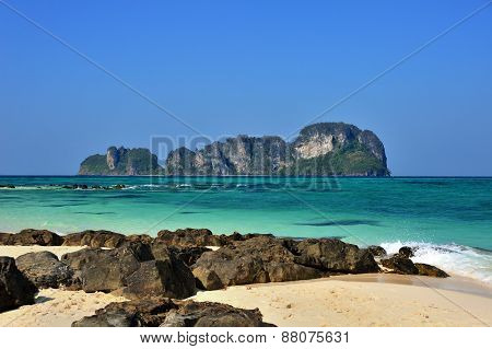 One Of Islands Of Andaman Sea