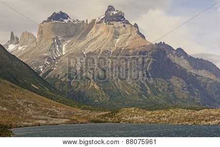 Dramatic Peaks In The Patagonian Andes