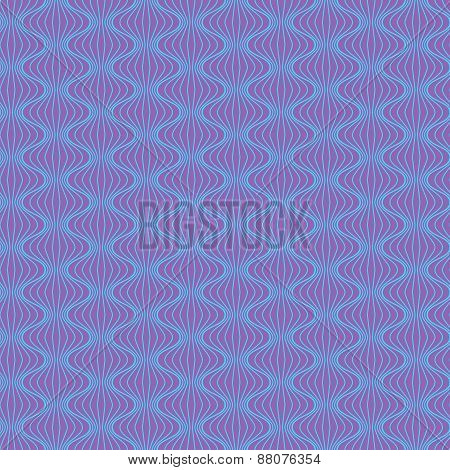 Purple background with simple blue ornament