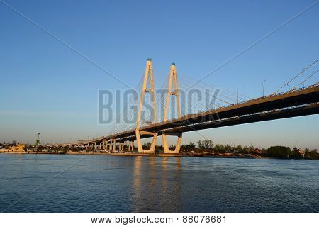 Cable-stayed Bridge.
