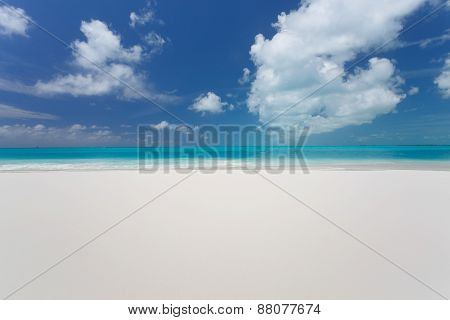 Beautiful Beach Of Caribbean Sea