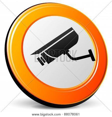 Camera Suveillance Icon