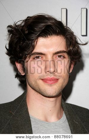 LOS ANGELES - FEB 14:  Carter Jenkins at the