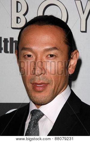 LOS ANGELES - FEB 14:  Masami Kosaka at the