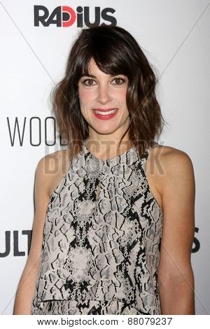 LOS ANGELES - FEB 15:  Lindsay Sloane at the
