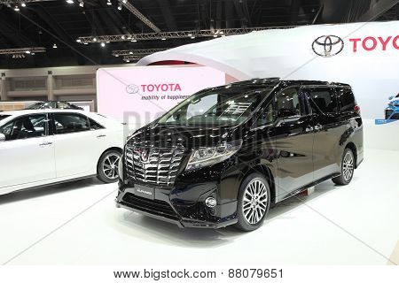 Bangkok - March 25: Toyota All New Alphard Car On Display At The 36 Th Bangkok International Motor S