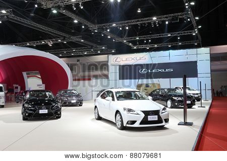 Bangkok - March 25: Showroom Of Lexus Car  At The 36 Th Bangkok International Motor Show On March 25