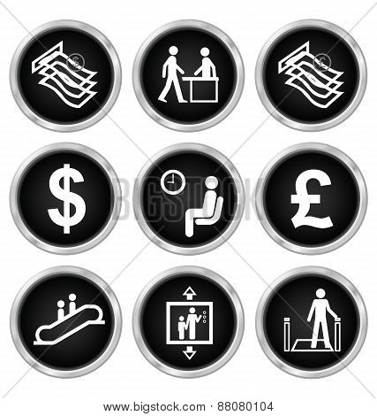 Office and finance Icons