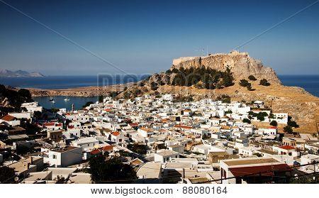 Lindos, Rhodes island, Greece