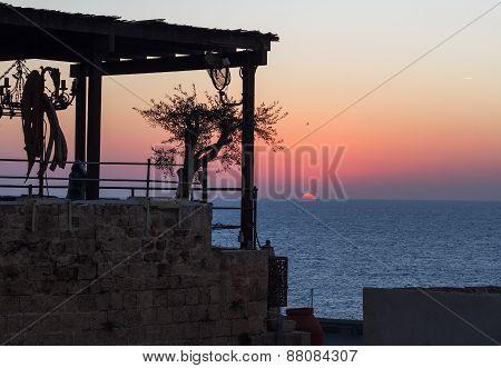 Sunset In Jaffa.