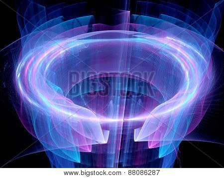 High Power Circular Energy Field