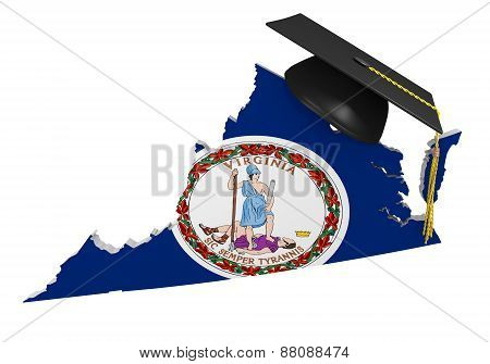 Virginia state college and university education