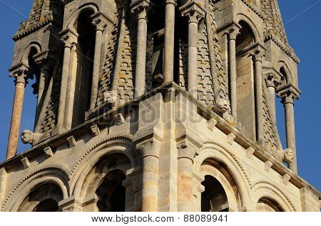 France, Bell Tower Of Vernouillet Church