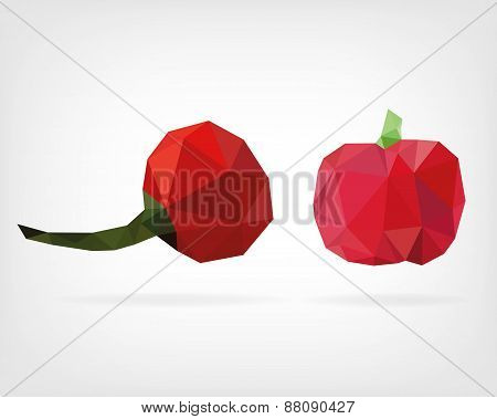 Low Poly Cherry Pepper