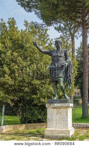 Statue Of Augustus, Classe. Italy