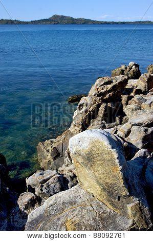 Coastline In Kisimamy Bay