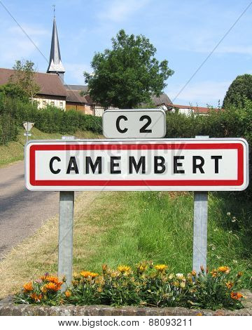 Camembert Sign, France