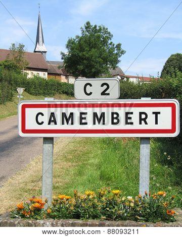 Camembert Sign, France