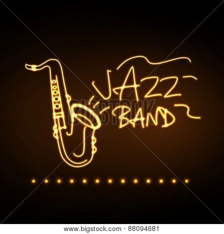 Neon Sign Jazz Band