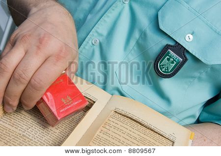 Cigarettes smuggling