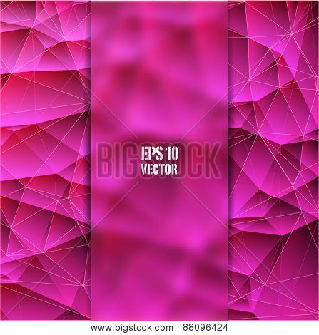 Abstract geometric vector background - eps10