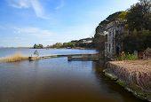 image of lagos  - beautiful tore del lago view in versilia - JPG