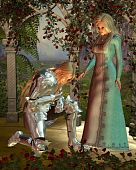 picture of arthurian  - Sir Launcelot  - JPG