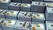 picture of million-dollar  - Dollar banks note money background - JPG