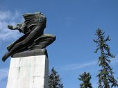stock photo of gratitude  - The Gratitude to France monument in Serbia Belgrade - JPG