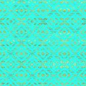 picture of gold  - Blue and gold pattern - JPG
