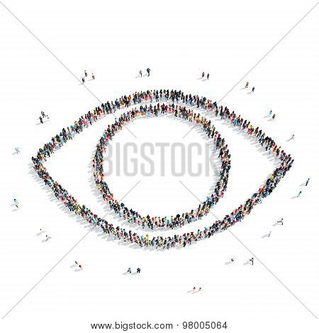 group  people  shape  eye