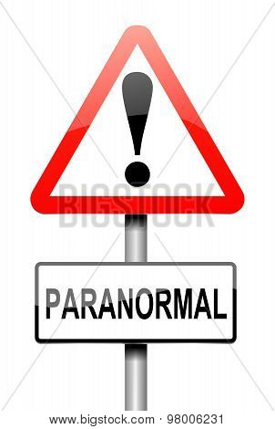 Paranormal Concept.