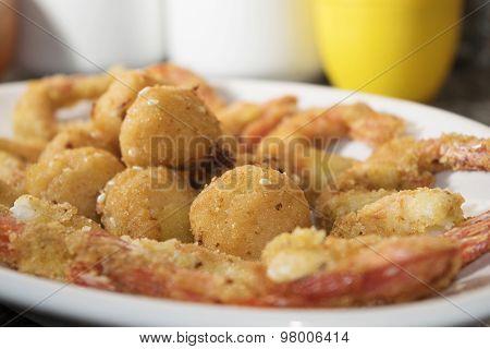 Crisp Fry Of Fish