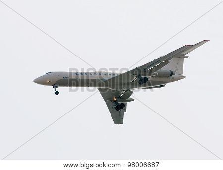 Flight of Tu-134A of Utair company