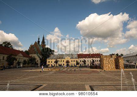 Marketplace in Olkusz