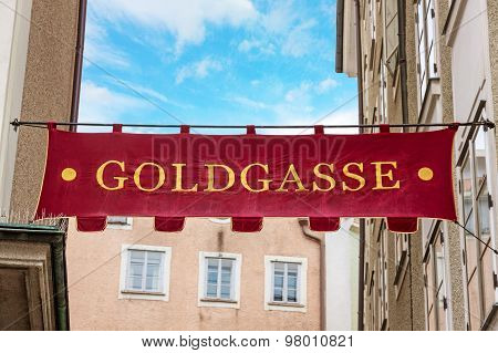 Goldgasse Salzburg