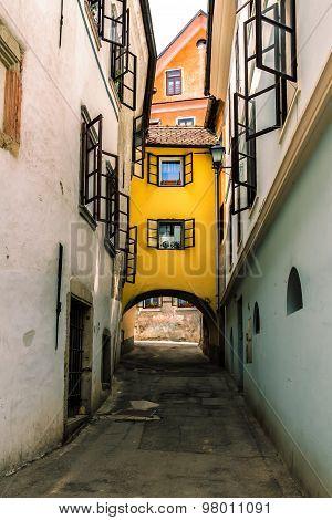 Small medieval street.