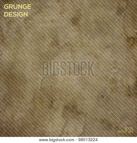 Vector paper texture with line pattern