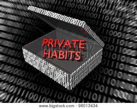 Private Habits In A Digital Box