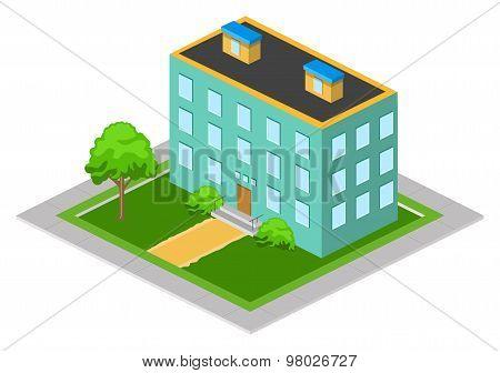 Isometric Big House